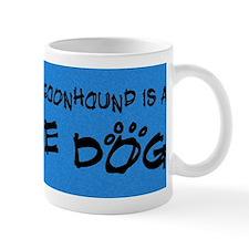blackandtan_rescuedog Small Mug