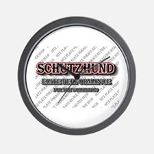 Schutzhund Elite Performance Wall Clock