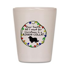 ds_collie Shot Glass