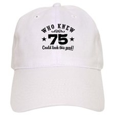 Funny 75th Birthday Hat