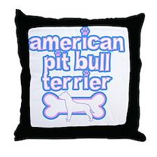 cutesy_amerpit Throw Pillow