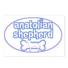 cutesy_anatolian_oval Postcards (Package of 8)