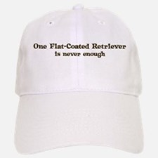 Flat-Coated Retriever Baseball Baseball Cap