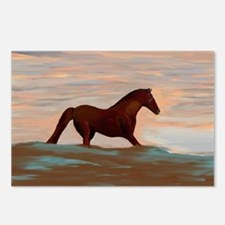 Horse On The Shoreline by Postcards (Package of 8)