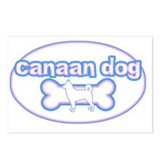 cutesy_canaan_oval Postcards (Package of 8)
