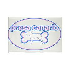 cutesy_canary_oval Rectangle Magnet