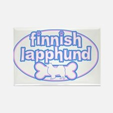 cutesy_finnish_oval Rectangle Magnet