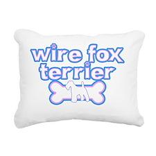 cutesy_foxwire Rectangular Canvas Pillow