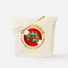 Dive Australia (hammerhead) Tote Bag