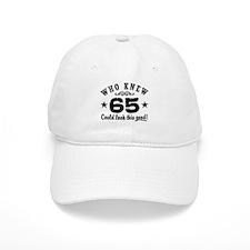 Funny 65th Birthday Baseball Cap