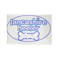 cutesy_lancashire_oval Rectangle Magnet
