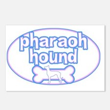 cutesy_pharaoh_oval Postcards (Package of 8)