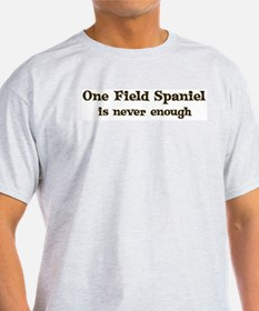 One Field Spaniel Ash Grey T-Shirt
