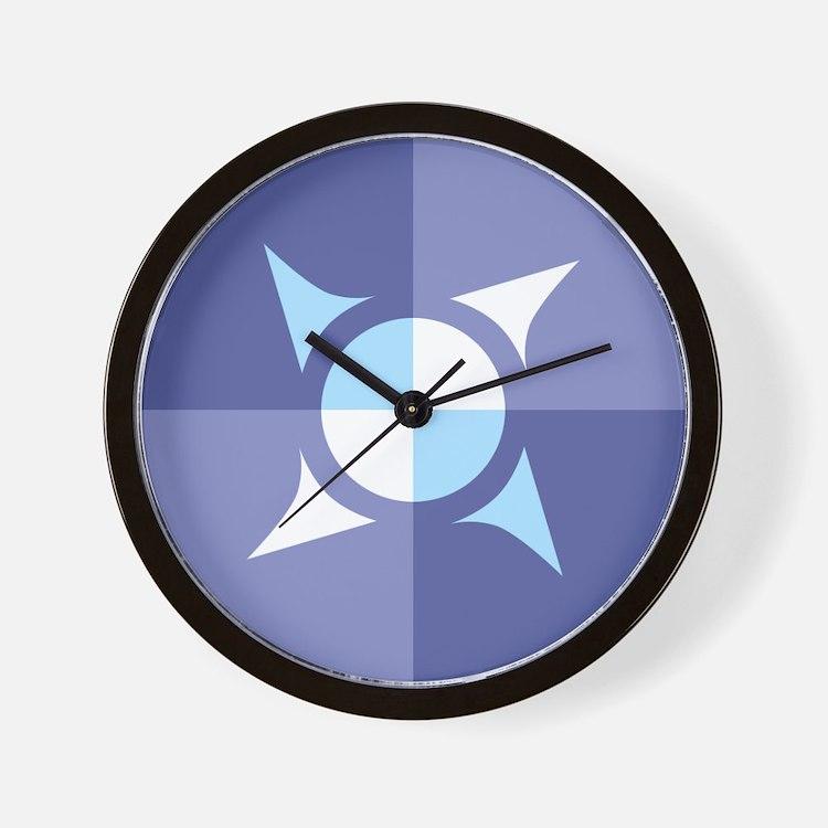 Lanschilandia Colours Wall Clock