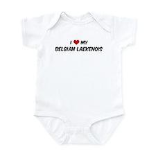 I Love: Belgian Laekenois Infant Bodysuit