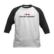 I Love: Belgian Laekenois Tee