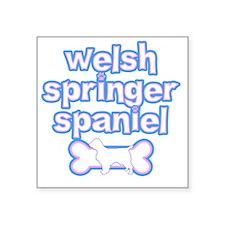 "cutesy_welshspringer Square Sticker 3"" x 3"""