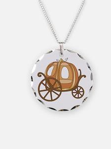 Pumpkin Carriage Necklace