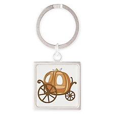 Pumpkin Carriage Keychains
