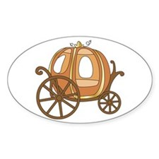 Pumpkin Carriage Decal