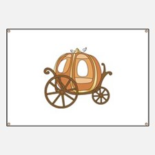 Pumpkin Carriage Banner