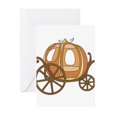Pumpkin Carriage Greeting Card