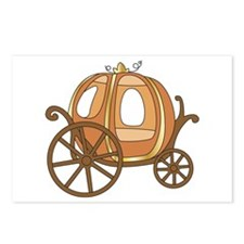 Pumpkin Carriage Postcards (Package of 8)