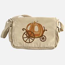 Pumpkin Carriage Messenger Bag