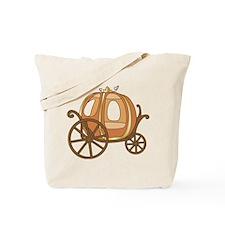 Pumpkin Carriage Tote Bag