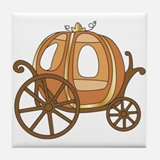Pumpkin Carriage Tile Coaster