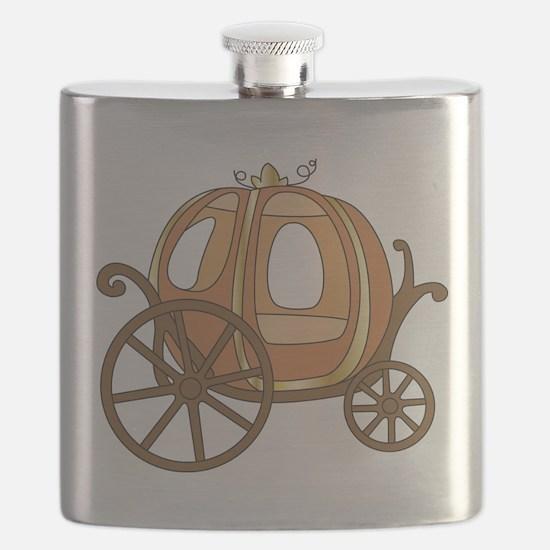 Pumpkin Carriage Flask