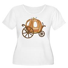 Pumpkin Carriage Plus Size T-Shirt