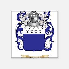 Koles Coat of Arms - Family Crest Sticker