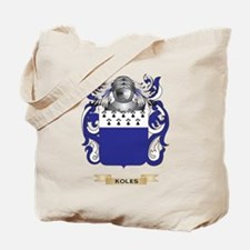 Koles Coat of Arms - Family Crest Tote Bag