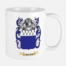 Koles Coat of Arms - Family Crest Small Small Mug
