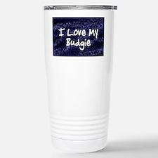 funklove_oval_budgie Stainless Steel Travel Mug