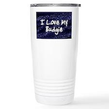 funklove_oval_budgie Travel Mug