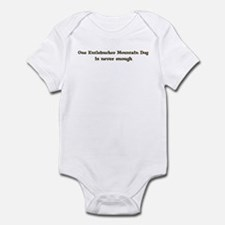 Entlebucher Mountain Dog Infant Bodysuit