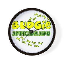 afficionado_budgie Wall Clock