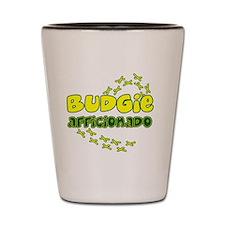 afficionado_budgie_hat Shot Glass