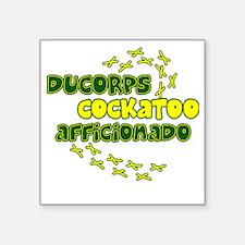 "afficionado_ducorps Square Sticker 3"" x 3"""