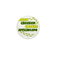 afficionado_greencheek Mini Button