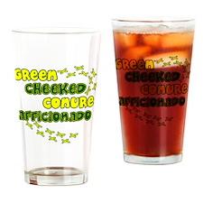 afficionado_greencheek Drinking Glass