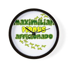 afficionado_maxi Wall Clock