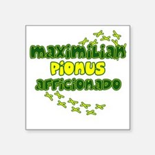 "afficionado_maxi Square Sticker 3"" x 3"""