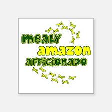 """afficionado_mealy Square Sticker 3"""" x 3"""""""