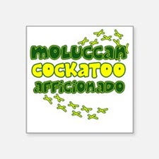 "afficionado_moluccan Square Sticker 3"" x 3"""