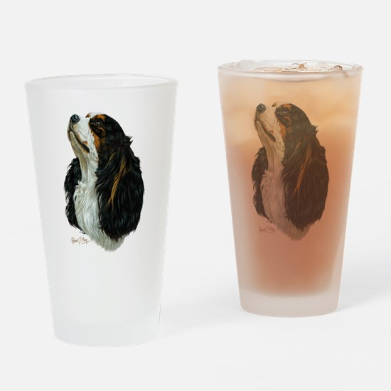 Unique King charles spaniel Drinking Glass