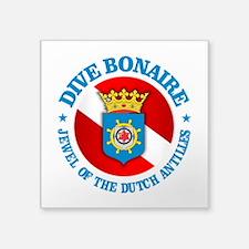 Dive Bonaire (rd) Sticker