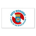 Dive Bonaire (rd) Sticker